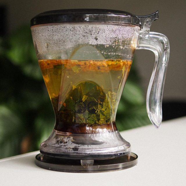 Genmaicha aka popcorn teaLove it tea genmaicha japanesetea brewing