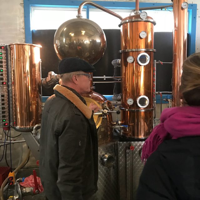 We visited the Tweekoppige Phoenix distillery in Zaandam They producehellip