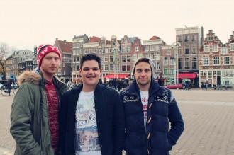 Toeristen in Amsterdam