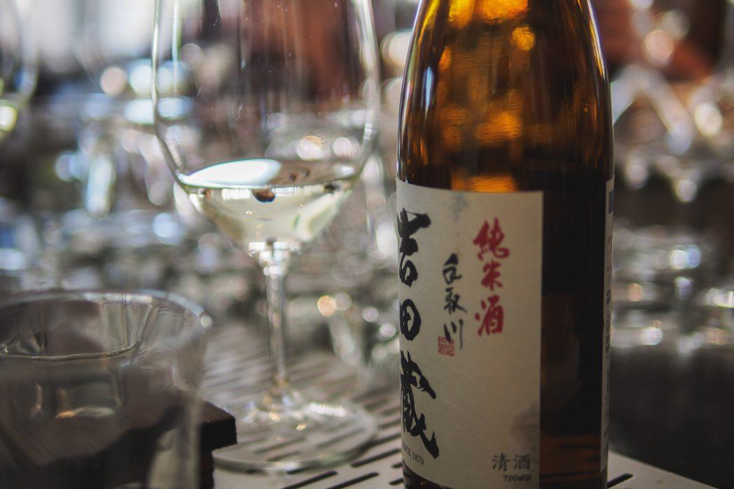 Tedorigawa sake