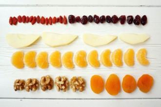 Quinoa lunch ingrediënten